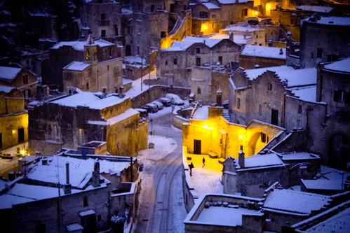 6836959055 bd2b1387e3 Lessenza della bellezza unesco snow neve matera foto flickr