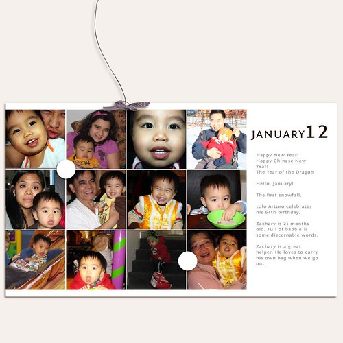 Project 12: 2012|January