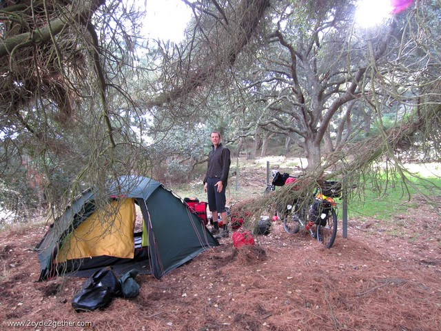 Wild Camp off of Highway 1, San Julian Road
