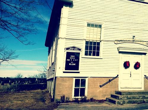 Queens River Baptist Church by goaliej54