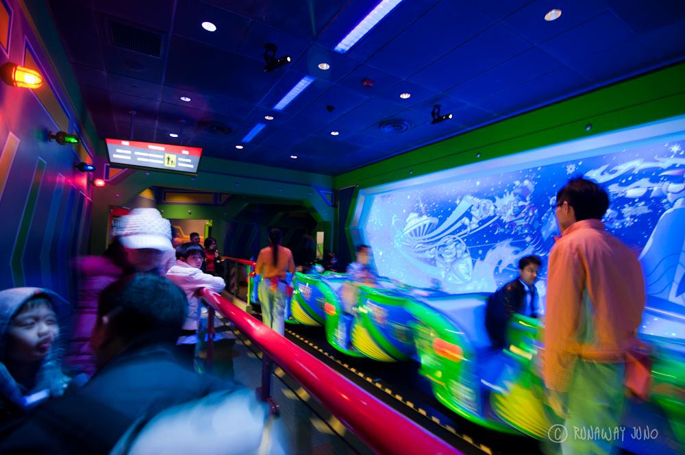 Tomorrowland Space Mountain