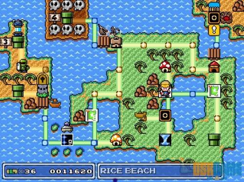 Mundo de Mushroom Kingdom Fusion