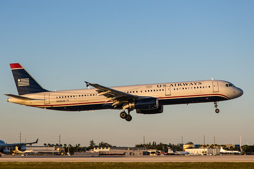 US Airways Airbus A321