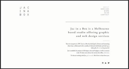 Minimalismo y diseño web