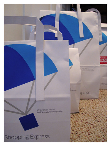 Google Shopping Express Packaging