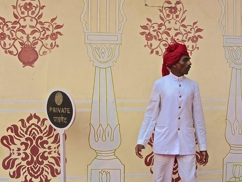 Palace attendant