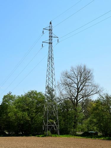 Driehoeksmast (single circuit tower)