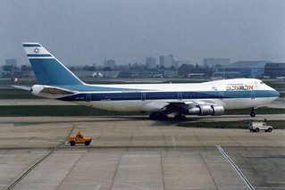 El Al Israel Airlines Boeing 747-258B 4X-AXC