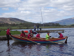 Wormit's Flying Boat launches on Loch Tummel