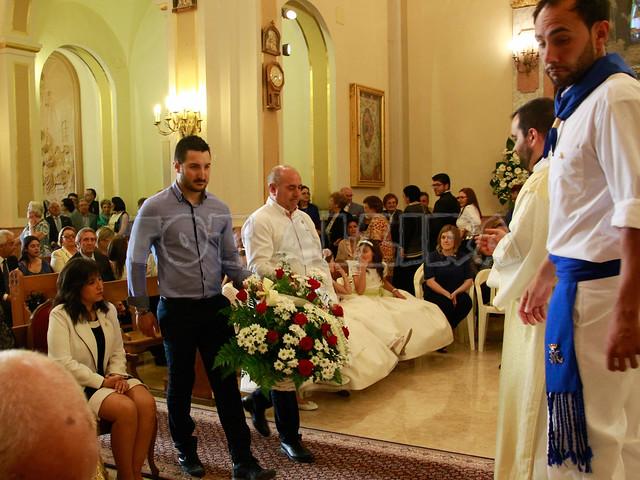 Ofrenda V. del Lluch - 50 aniversario coronación-