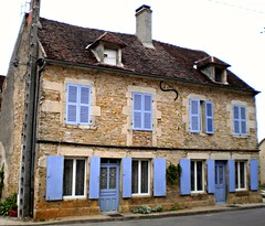 MONTILLOT village & church, Burgundy, France