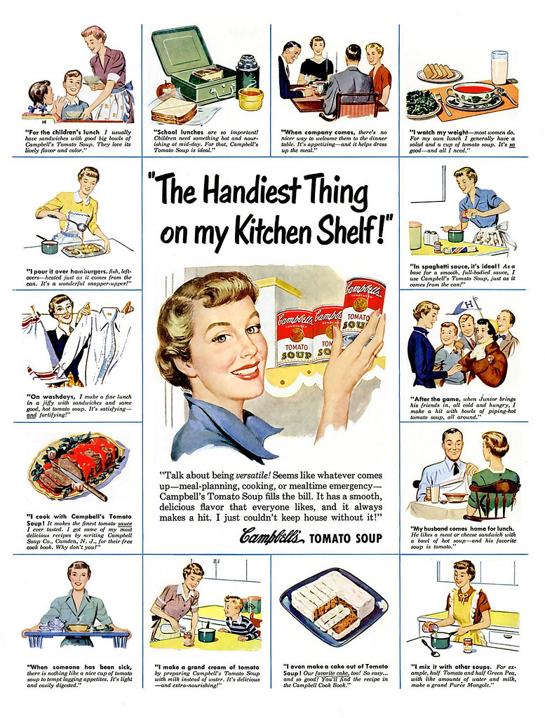 1950 ... soup to rescue!