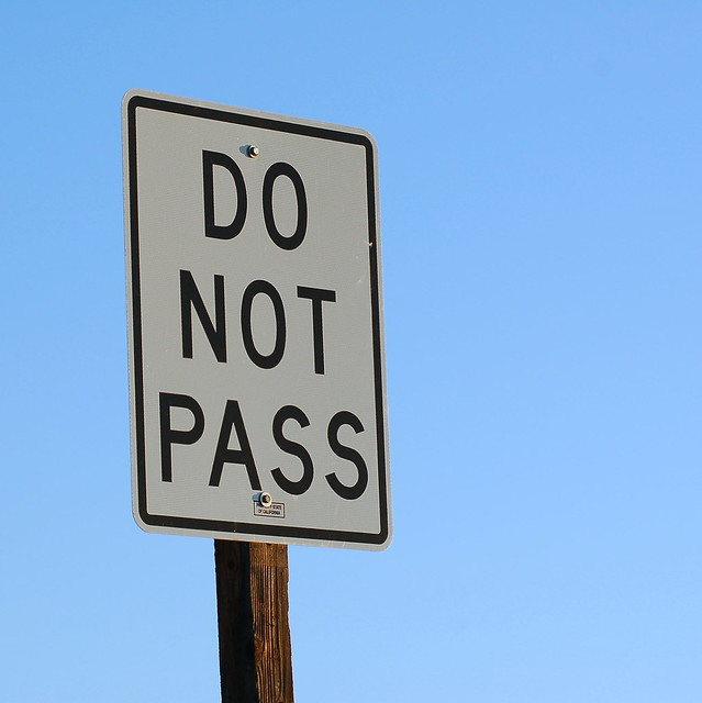 do not pass flickr photo sharing
