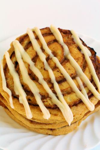 Pumpkin Cinnamon Roll Pancakes 3434 R