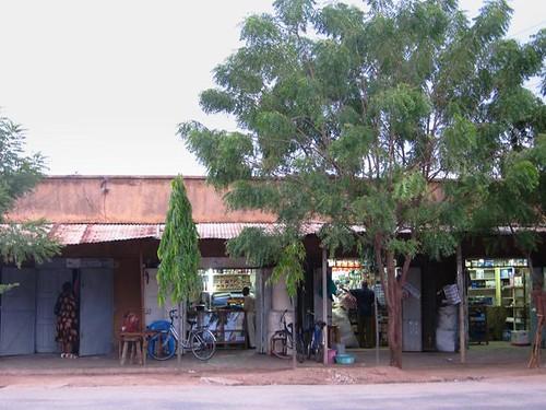 Tanzanian Shops Africa by Danalynn C