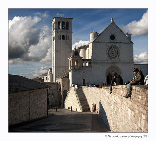 "Assisi from the book ""Sui passi di Francesco"" by Diego Fontana"