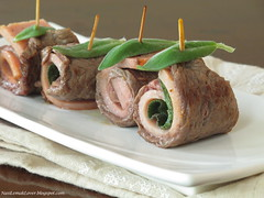 Saltimbocca (Beef roll with sage leaf)