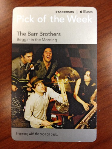 Starbucks iTunes pick of the Week - The Barr Brothers - Beggar in the Morning