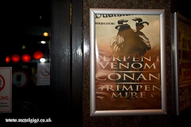 Serpent Venom Hobgoblin Angel gig listings metal gigs