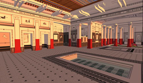 Inside the Pompeii Court
