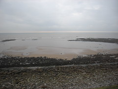 Bleak Cumbrian coast