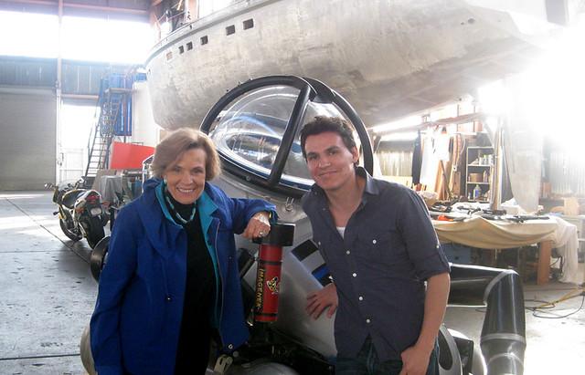 Sylvia Earle , Andres Useche Sub