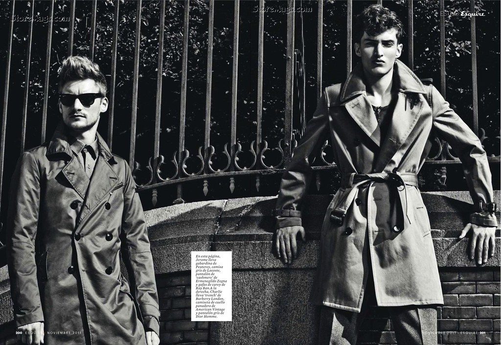 Esquire Spain December 2011_022Charlie France,Jerome Clark(Flashbang@TFS)