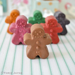 Gingerbread Crayons