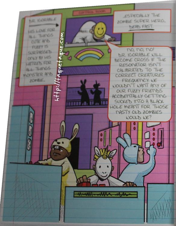 Cómic de mi Ghoulia Yelps 2011 San Diego Comic Con