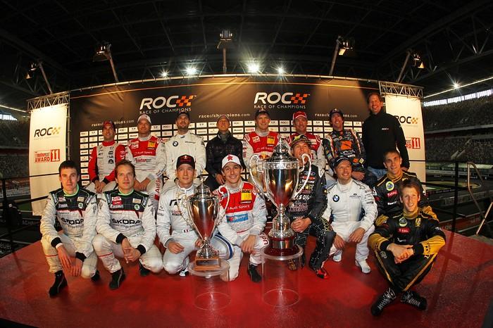 Участники Race of Champions-2011