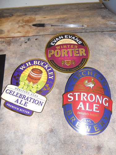 A Selection of Pump Clips