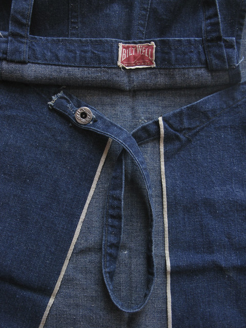 Bilt Well denim apron