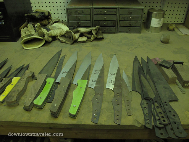 Cut Brooklyn craft knives in Gowanus NYC