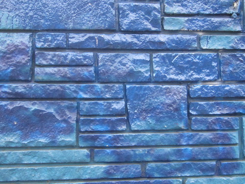 Blue Brick Patterns