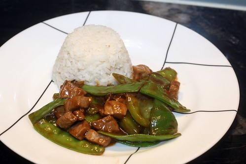 ginger pork with oyster sauce