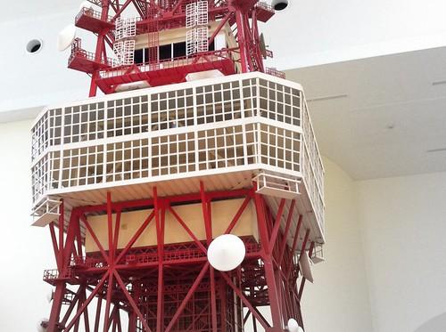 東京タワー : 75分の1模型