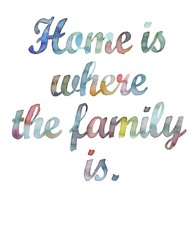 Home Is Where The Family Is Maquette By Samantha Hahn