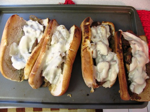 Skinny Philly Cheesesteaks