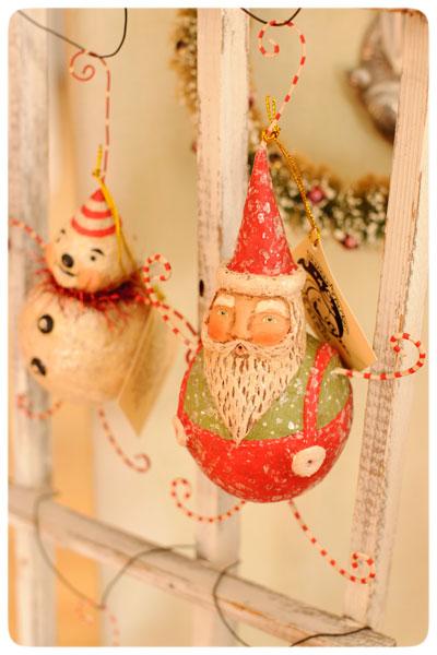 Snowman-&-Santa-Ornaments