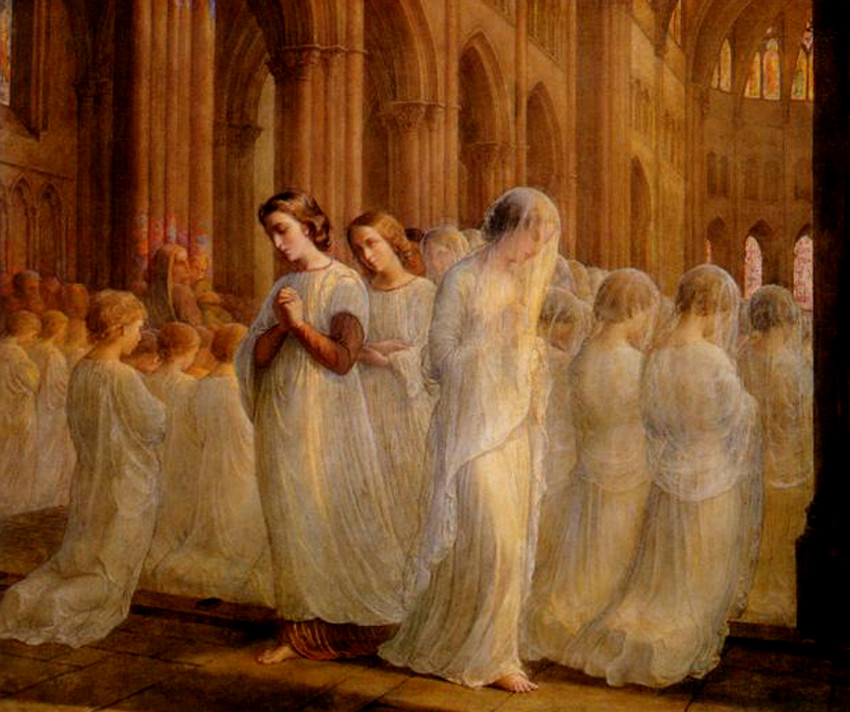 Louis Janmot - FirstCommunion