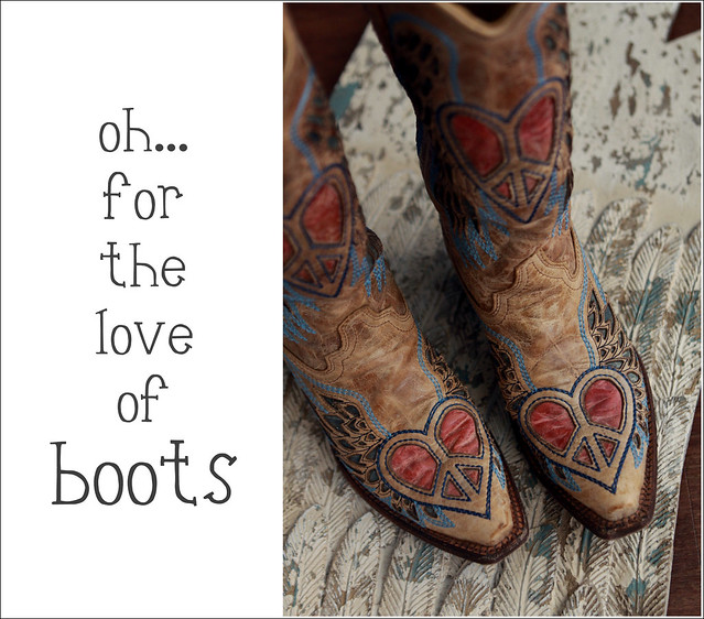 flying heart boots