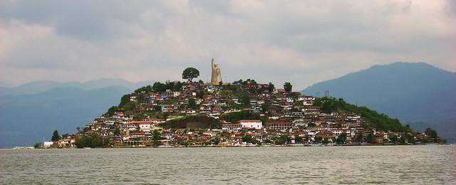 Janitzio Island in Lake Pátzcuaro, Mexico 03242007