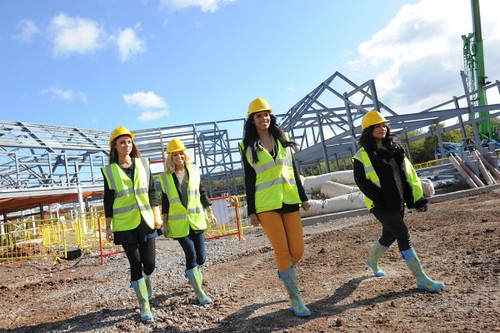 The Saturdays at the new hospice site