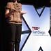 3D Chalk Artist Tracy Lee Stum speaking at TEDxSanDiego    MG 3694