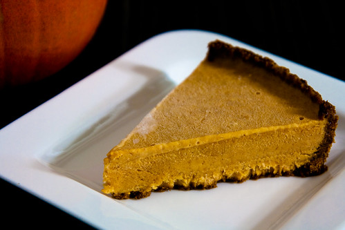 Frozen Pumpkin Mousse Pie