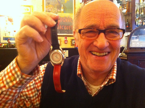 Dad and his Mr Jones watch