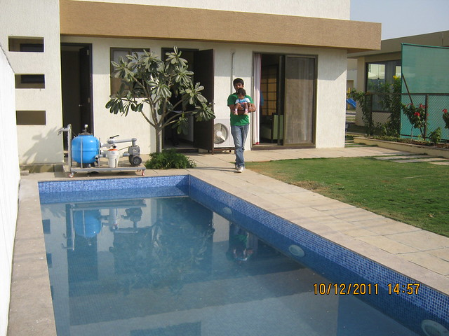 Swimming Pool in the show villa at  Kolte-Patil Life Republic, Marunji - Hinjewadi, Pune 411 057