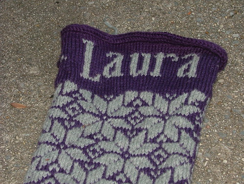 Laura's Christmas Stocking