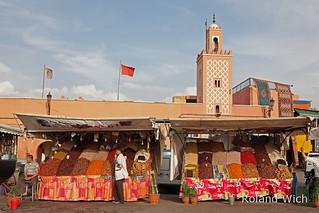 Marrakech - Dried Fruit Stand