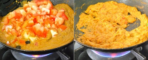 how to make matar paneer step 6